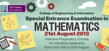 NUI Galway Special Maths Exam Offers Leaving Cert Students a Second Chance-image