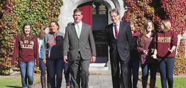 Boston Mayor Visits NUI Galway-image