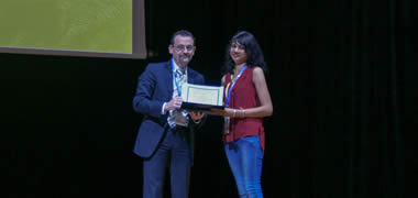 CÚRAM PhD Student Awarded First Prize for best Podium Presentation at European Biomaterials Conference-image