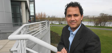 NUI Galway's Professor Lokesh Joshi is Science Foundation Ireland Stokes Professor of Glycosciences and a co-founder of Aquila