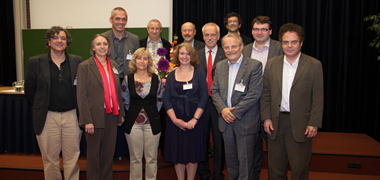 NUI Galway's Professor Stefan Decker (second from right) pictured with the Board of Informatics Europe.