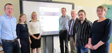 Launch of Free Bilingual Mathematical Walk App of NUI Galway's Campus-image