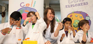 Cell EXPLORERS Teams to Bring Hands-on Science to Irish Schools-image