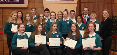 NUI Galway Awards Business Certificate to 300 Junior Certificate Students-image