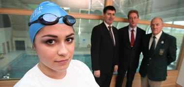 Swim Ireland Launch Connacht Performance Centre -image