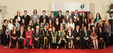 40 NUI Galway Scholars Honoured at NUI Annual Awards Ceremony-image