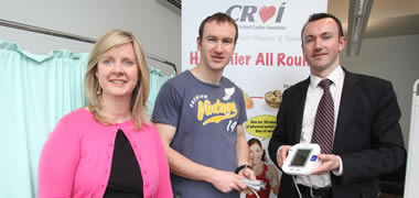 NUI Galway Students Partner with Croí to Raise Blood Pressure  Awareness -image