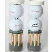 Image of Golf Tee and Ball Set