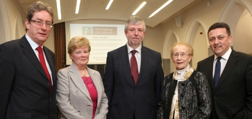 New Ombudsman Peter Tyndall Delivers His First Public Lecture at NUI Galway -image