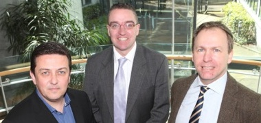 Donncha O'Connell, Larry Donnelly and Kevin Kerrigan pictured at the launch of the conference