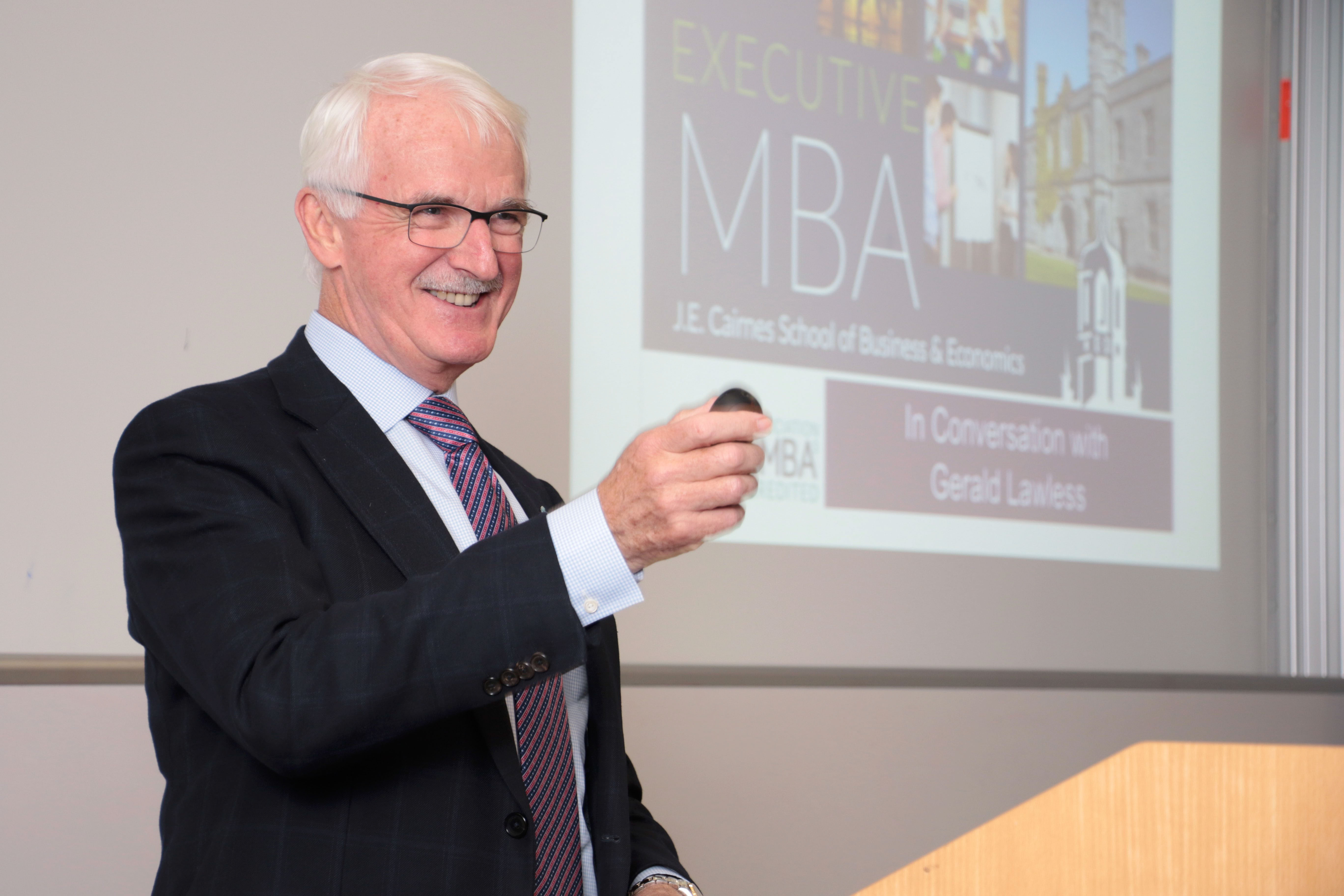 Gerald Lawless MBA Masterclass NUIG 1 February 2018