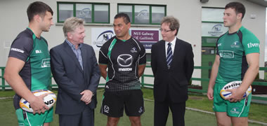 NUI Galway and Connacht Rugby announce high performance partnership -image