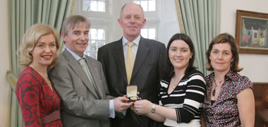 Connacht Tribune Gold Medal for Journalism-image