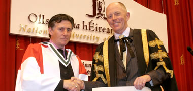 NUI Galway Honours Gabriel Byrne during Winter Conferrings-image