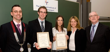 NUI Galway Engineering Students Win National Logistics and Transport Awards-image