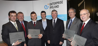 Minister Devins Presents Enterprise Ireland Awards to NUI Galway-image