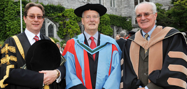 Former NUI Galway President Honoured-image