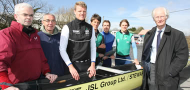 Olympic Rowing Team Train at NUI Galway-image
