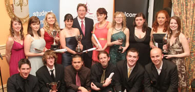 President Praises NUI Galway Societies at Awards Ceremony-image