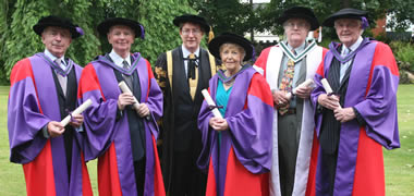 Conferring of Honorary Degrees at NUI Galway-image