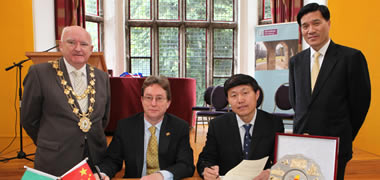 Memorandum of Understanding Signed with the Ocean University of China-image
