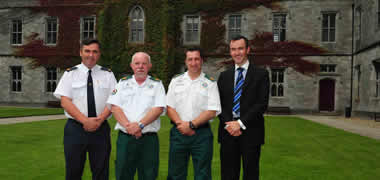 HSE West Ambulance Officers made Honorary Clinical Fellows of NUI Galway-image