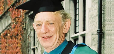 NUI Galway President Pays Tribute to Actor Mick Lally-image