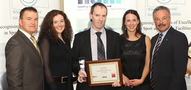 Manager of NUI Galway's Sports Centre wins Manager of the Year Award-image