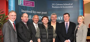 Top Irish Entrepreneurs Talk Business at NUI Galway-image