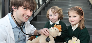 NUI Galway Students hold the Sixth Annual Teddy Bear Hospital-image