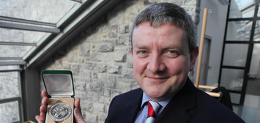 NUI Galway Biomedical Engineering Professor Receives Prestigious Award-image