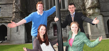 NUI Galway Postgraduate Students Win Bioengineering Research Awards-image