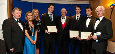 Engineering Students Win Prestigious Transport Awards-image