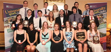 NUI Galway Announce Winners of 2011 Sports Awards-image
