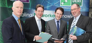 Minister for Research and Innovation Delivers Keynote Speech at DERI Open Day-image