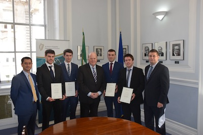 NUI Galway student wins Department of Finance Economic Policy Competition 2015-image