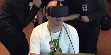Huge Interest in IT's Oculus Rift at Galway Minecraft Fan Convention-image