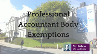Professional Accounting Body Exemptions
