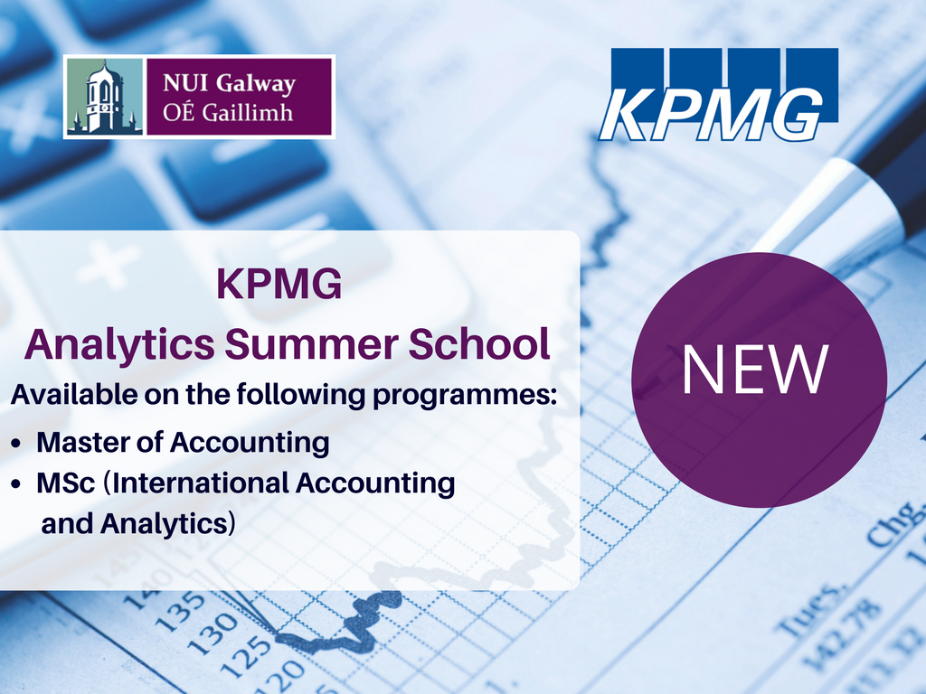 KPMG Led Analytics Summer School