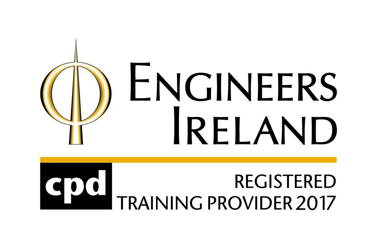 Registered Training Provider logo for 2017 from Engineers Ireland