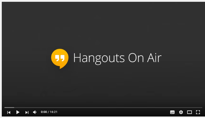 Google Hangout: Yuwei Li, MEconSc International Finance, China