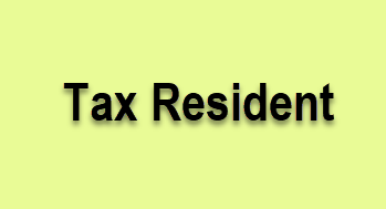 Tax Resident