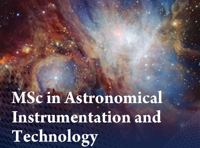 MSc Astronomical Instrumentation and Technology