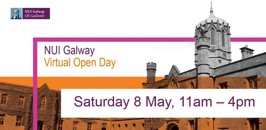 Virtual Open Day: 8th May 12 - 4pm