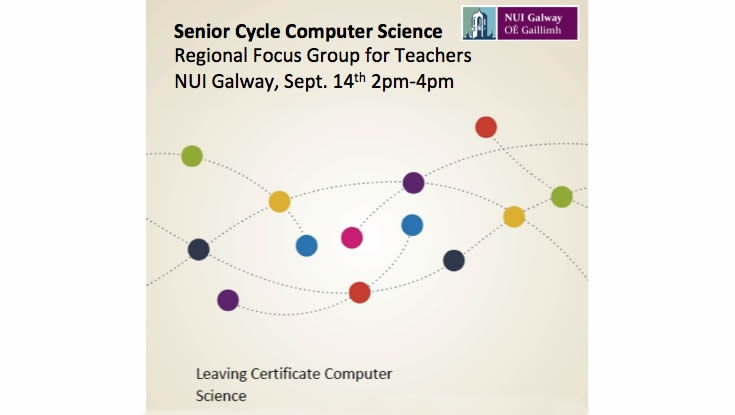 Teachers Invited To Give Feedback At NUI Galway On New Computer Science Curriculum For Leaving Cert.-image