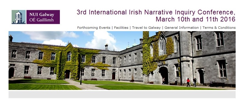 3rd International Irish Narrative Inquiry Conference 2016-image