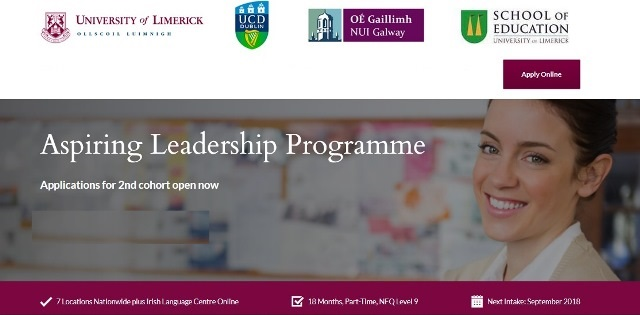 Aspiring Leadership Programme - Applications for 2nd Cohort Now Open-image