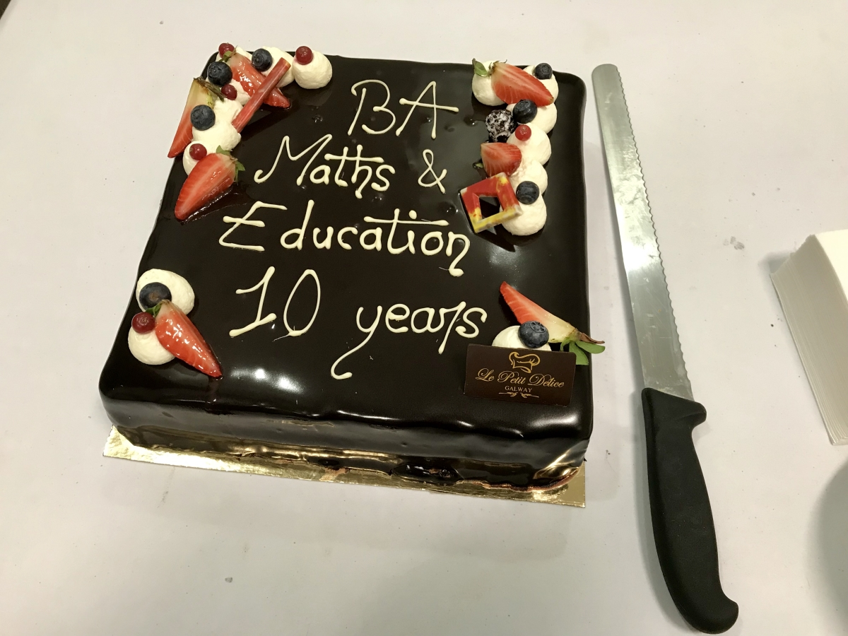 Happy 10th birthday to the Schools of Education & Mathematics' Joint BA Mathematics and Education programme-image