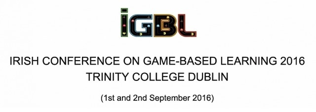 Call for Participation: 6th Irish Conference on Game-Based Learning -image