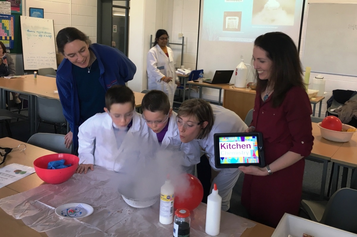 NUI Galway's Kitchen Chemistry Launch Free Online Resource for Primary Science Classrooms-image